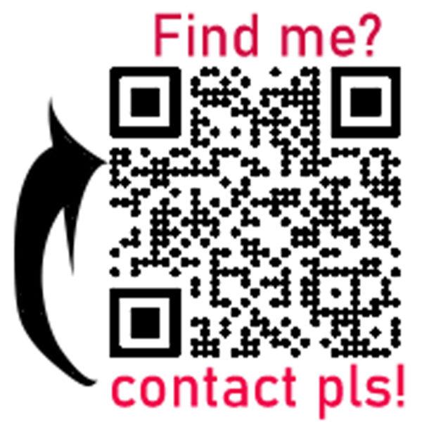 Find me Aufkleber für Cochlea Implantat (CI)